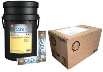 Shell Gadus S2 A320 2 pail cartridges